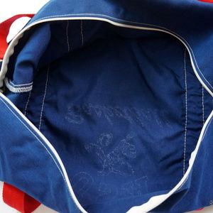 fe60f8fb29e2 Vintage Bags - Vintage USA Basketball Gym Bag Duffle Bag Navy Red